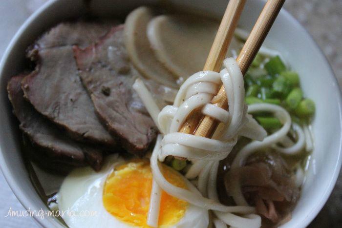 Udon Noodle Pork Soup
