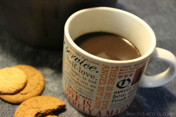 Hot Coconut Milk Chocolate
