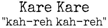 karepronounce