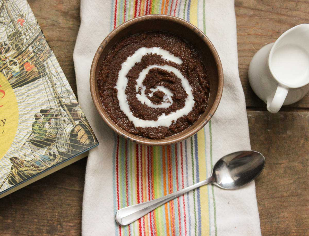 Chocolate Teff Porridge