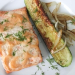 Baked Salmon with Calamansi Mayonnaise
