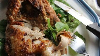 Roast Chicken with Lemongrass