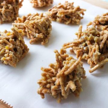 Custard Yema Cinnamon Chow Mein Cookies