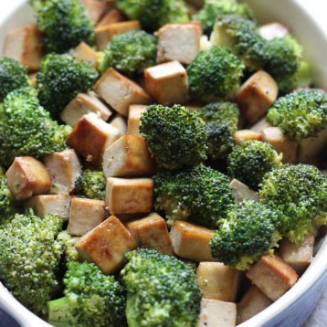Broccoli Tofu Stir Fry – easy recipe