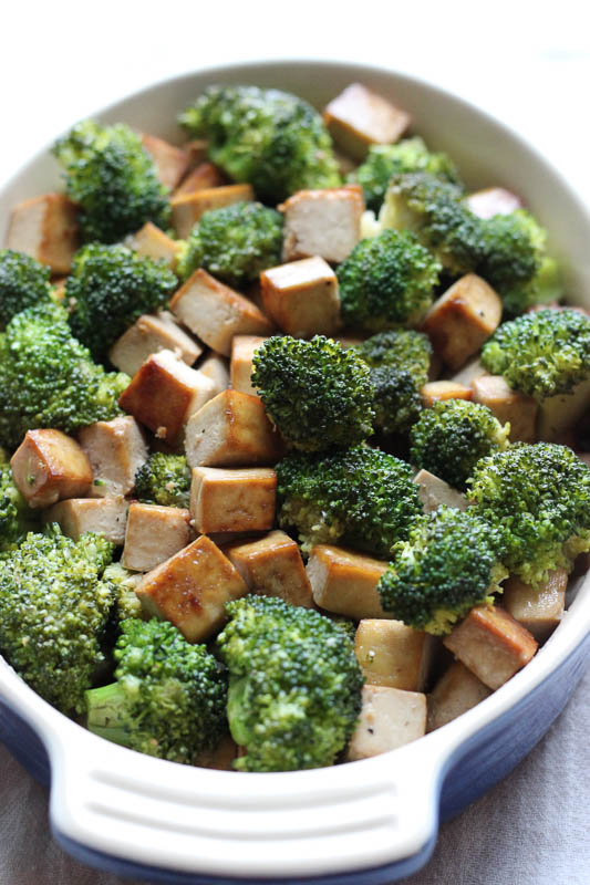 Broccoli Tofu Stir Fry Easy Recipe