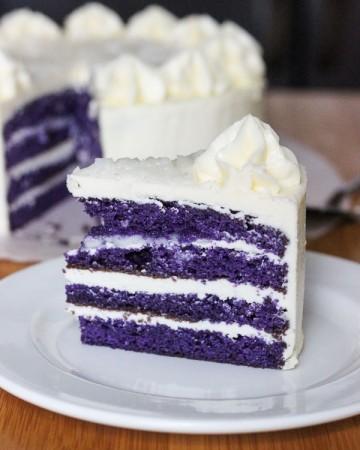 Easy Ube Cake - Purple Yam Cake