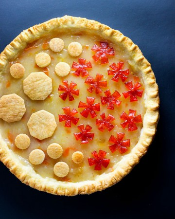 Kumquat Marmalade Pie