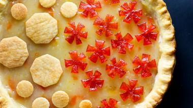 Kumquat Marmalade Pie