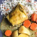 Filipino Chicken Curry Recipe creamy coconut and yellow curry