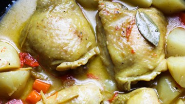 Filipino Chicken Curry can be bizarre or not…