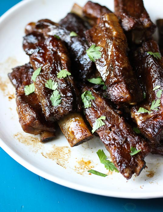 Filipino Style Sweet Adobo Pork Ribs