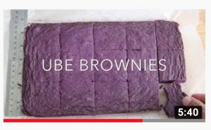 Ube Brownie Recipe