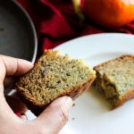 Simple One-Bowl Banana Bread - texture is moist when baked